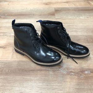 Original penguin Holden leather boots